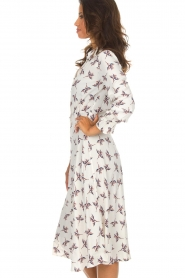 ba&sh |  Midi dress Flore | white  | Picture 4