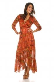ba&sh |  Maxi dress Disy | orange  | Picture 3