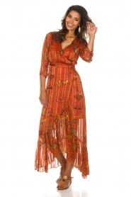 ba&sh |  Maxi dress Disy | orange  | Picture 2