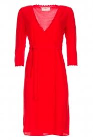 ba&sh |  Wrap dress Copper | red  | Picture 1