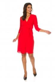 ba&sh |  Wrap dress Copper | red  | Picture 8