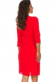 ba&sh |  Wrap dress Copper | red  | Picture 6