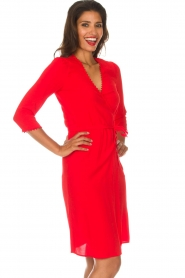 ba&sh |  Wrap dress Copper | red  | Picture 5
