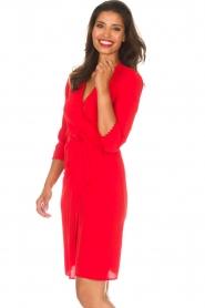 ba&sh |  Wrap dress Copper | red  | Picture 4