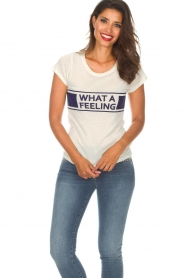 ba&sh   T-shirt What  A Feeling   wit    Afbeelding 2