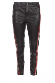 Set |  Leather legging Jaden | black  | Picture 1