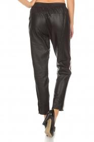 Set |  Leather legging Jaden | black  | Picture 5