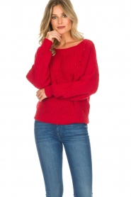 Set |  Sweater Medine | red  | Picture 4