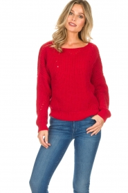Set |  Sweater Medine | red  | Picture 2