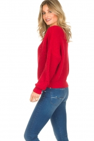 Set |  Sweater Medine | red  | Picture 5