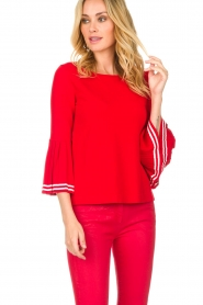 Set |  Sweater Nora | red  | Picture 4