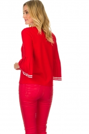 Set |  Sweater Nora | red  | Picture 6