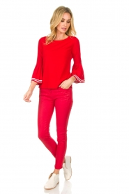 Set |  Sweater Nora | red  | Picture 3