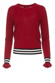 Set |  Sweater Aline | red  | Picture 1