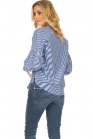 Set |  Striped blouse Evi | blue  | Picture 4