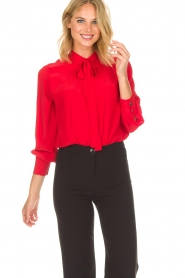 Set |  Blouse Linn | red  | Picture 2