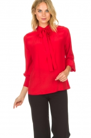 Set |  Blouse Linn | red  | Picture 4