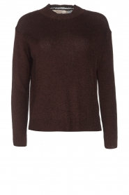 Rabens Saloner |  Glitter sweater Nadia | copper  | Picture 1