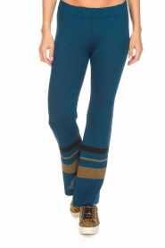 Rabens Saloner |  Glitter pants Mina | blue  | Picture 3