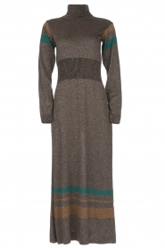 Rabens Saloner |  Glitter maxi dress Mie | gold  | Picture 1