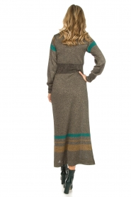 Rabens Saloner |  Glitter maxi dress Mie | gold  | Picture 6