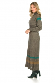 Rabens Saloner |  Glitter maxi dress Mie | gold  | Picture 5