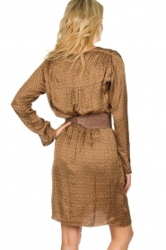 Rabens Saloner |  Dress Lisamay | brown  | Picture 5
