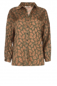 Rabens Saloner |  Blouse Leonora | green  | Picture 1