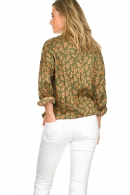 Rabens Saloner |  Blouse Leonora | green  | Picture 6