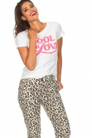 Lolly's Laundry   T-shirt Romee   wit    Afbeelding 4