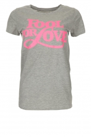 Lolly's Laundry |  T-shirt Romee | grey  | Picture 1