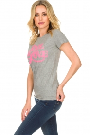 Lolly's Laundry |  T-shirt Romee | grey  | Picture 4