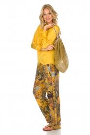 Lolly's Laundry | Top Franka | geel  | Afbeelding 3