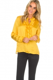 Lolly's Laundry |  Top Franka | yellow  | Picture 2
