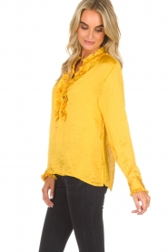 Lolly's Laundry |  Top Franka | yellow  | Picture 4