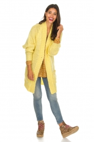 Lolly's Laundry |  Cardigan Carrie | yellow  | Picture 3