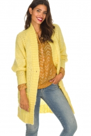 Lolly's Laundry |  Cardigan Carrie | yellow  | Picture 2