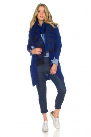 Lolly's Laundry |  Cardigan Carry | blue  | Picture 3