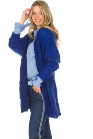 Lolly's Laundry |  Cardigan Carry | blue  | Picture 5