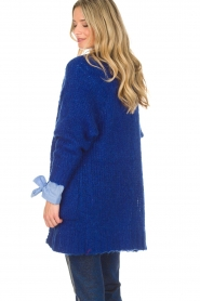 Lolly's Laundry |  Cardigan Carry | blue  | Picture 7