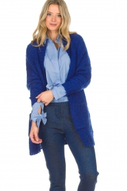 Lolly's Laundry |  Cardigan Carry | blue  | Picture 4