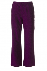 Lolly's Laundry |  Glitter pants Tuula | purple  | Picture 1