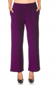 Lolly's Laundry |  Glitter pants Tuula | purple  | Picture 3