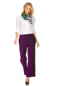 Lolly's Laundry |  Glitter pants Tuula | purple  | Picture 2