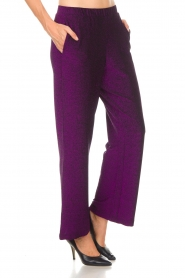 Lolly's Laundry |  Glitter pants Tuula | purple  | Picture 4