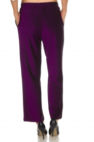 Lolly's Laundry |  Glitter pants Tuula | purple  | Picture 5