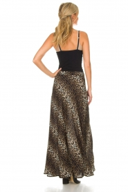 Lolly's Laundry |  Maxi skirt with leopard print Mio | animal print  | Picture 6