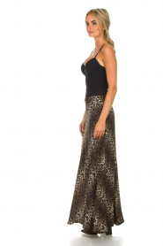 Lolly's Laundry |  Maxi skirt with leopard print Mio | animal print  | Picture 5