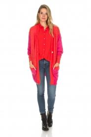 Lolly's Laundry | Fel gekleurd vest Carrie | rood  | Afbeelding 3