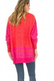 Lolly's Laundry | Fel gekleurd vest Carrie | rood  | Afbeelding 6